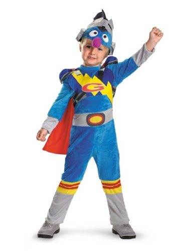 Grover 2.0 Costume - Toddler Large front-1004847
