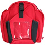 First Voice FV4100b EMS Responder Backpack with Aed Pouch - EMS Responder Bag (Bag olny)