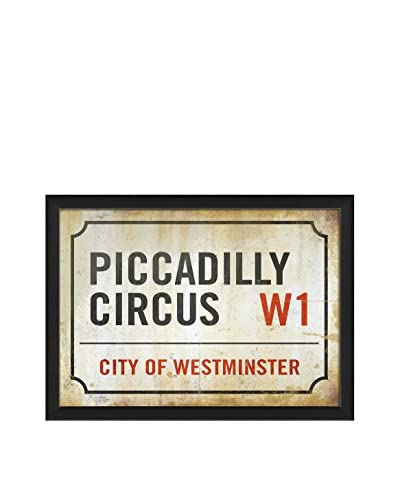 The Artwork Factory Piccadilly Circus Sign Print