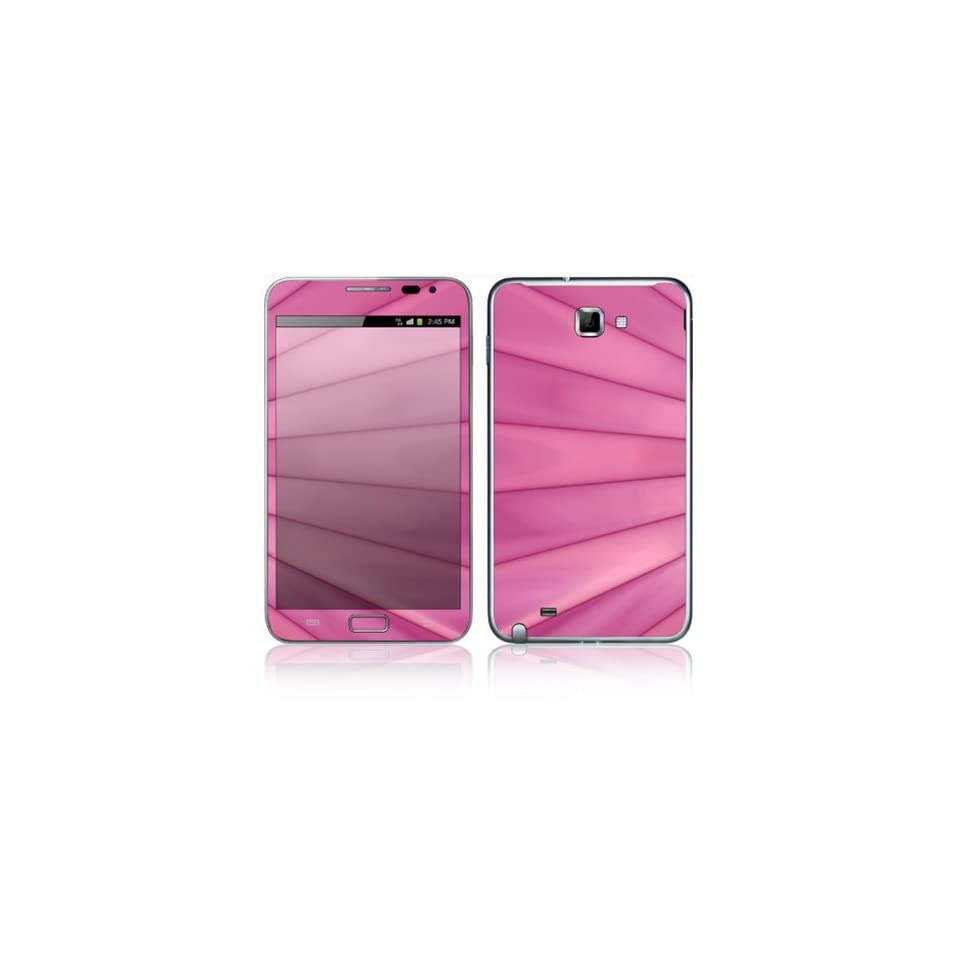 Pink Lines Decorative Skin Cover Decal Sticker for Samsung Galaxy Note GT N7000 Cell Phone