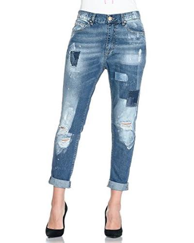 Frankie Morello Jeans Annagloria [Blu Denim]