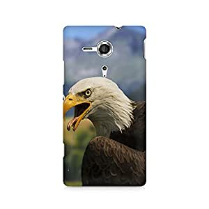 Mobicture Huge Eagle Premium Printed Case For Sony Xperia SP M35H