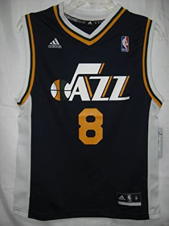 Deron Williams Utah Jazz Navy NBA Youth Replica Revolution 30 Jersey by adidas