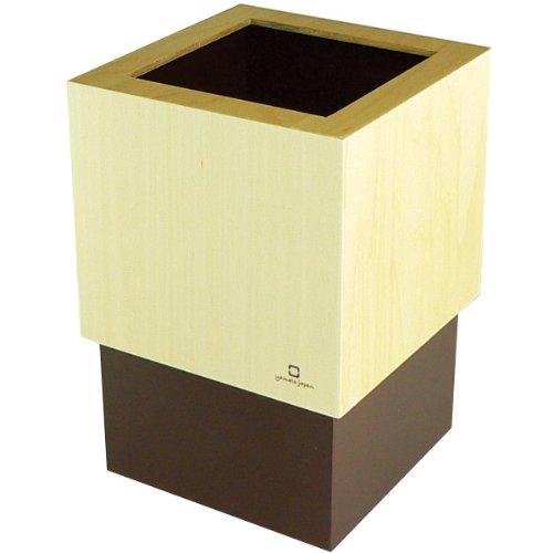 W CUBE ダストボックス DUSTBOX 茶色 YK06-012Br <34270>