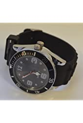 Stash Watch Grinder Real Size Real Grinder *** Six Colors Available *** (Black)