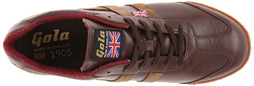 Gola Men's Harrier 1905 Fashion Sneaker,Brown/Taupe,10 M US