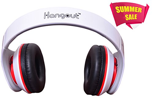 Today's Deal Hangout Consistance Stereo Headset HO-003 - white