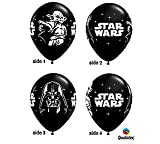 Star Wars Black 11 Latex Balloons - Package of 12