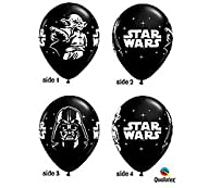 Star Wars Black 11″ Latex Balloons -…