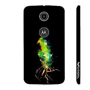 Motorola Moto E (2nd gen) Fireworks designer mobile hard shell case by Enthopia
