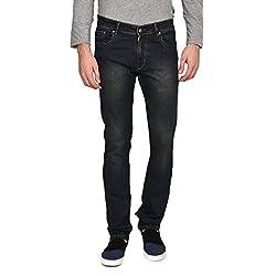 Ruace men's Regular fit Tintgreen jeans