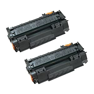 Amsahr 113R00726 Xerox 113R00726, 6180DN Remanufactured Replacement Toner Cartridge with Two Black Cartridges