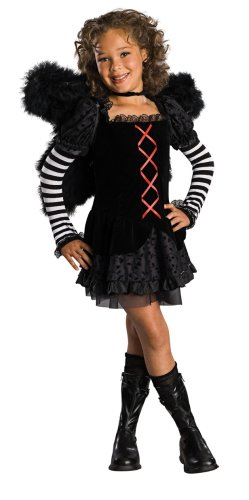 Drama Queens Child's Dark Angel Costume, Large