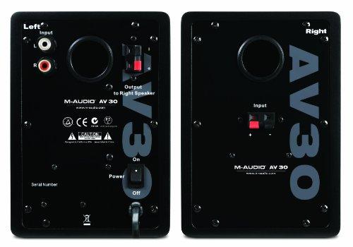 Loa M-Audio Studiophile AV30 MkII Powered Monitor Speakers