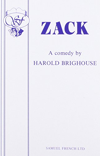 Zack - A Comedy (Acting Edition)