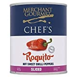 Merchant Gourmet Chef's Roquito Sliced Hot Sweet Chilli Peppers 822G x Case of 12