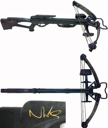 Daryl Dixons Crossbow Evolutioncollection!!  YouTube