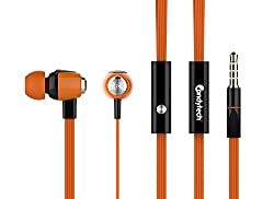 Candytech Stereo Sound Earphone (Orange)