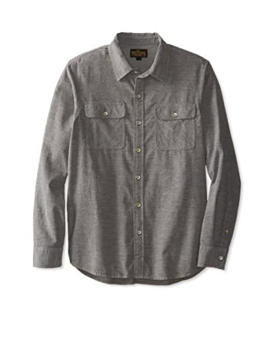 True Religion Men's Solid Woven Shirt