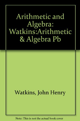 Arithmetic and Algebra PDF