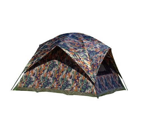 Texsport Camouflage Headquarters Square Dome Tent, Outdoor Stuffs