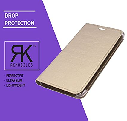 Moto-G-Play,-4th-Gen-Leather-Flip-Case-Cover-Golden-(For-Moto-G-Play,-4th-Gen)