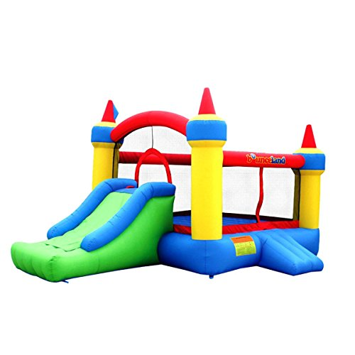 Kids-Super-Bouncy-Water-Air-Grade-Mighty-Trampoline-Bouncer-Slide-Jumper-Blower-Inflatable-Mega-Castle-Bounce-House-Moonwalk-Jump