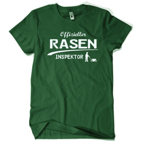 offizieller-rasen-inspektor-gartner-t-shirt-gr-l-bottle-green