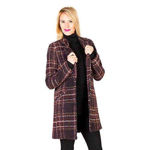 Silvian Heach , COAT BODHRAN - Cappotto para donna, color fant.unica, talla M