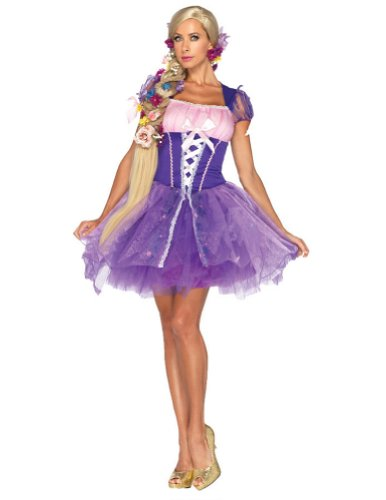 Rapunzel Adult Costume Lg Adult Womens Costume