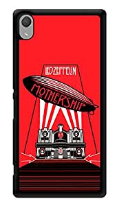 "Humor Gang Led Zeppelin - Mothership Rock Printed Designer Mobile Back Cover For ""Sony Xperia Z3 - Sony Xperia Z3 Plus"" (3D, Glossy, Premium Quality Snap On Case)"