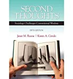 BUNDLE: Newman, Sociology, Eighth Edition + Ruane, Second Thoughts, Fifth Edition (1452205930) by Newman, David M.