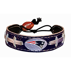 Buy New England Patriots Team Color NFL Football Bracelet by GameWear