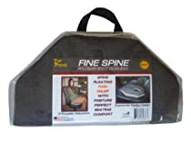Fine Spine Flex Cushion. On The Go Orthopedic Seating Comfort and Back Pain Relief. Home, Car, Office and Sport.