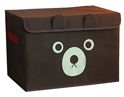 Spinning boîte de rangement boîte à gants Box In Box-princesse Bear Coffee