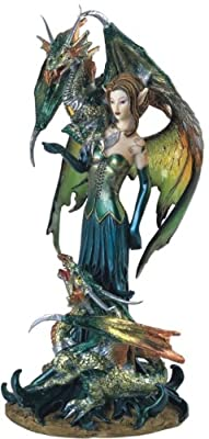 Fairy Collection Pixie with Dragon Fantasy Figurine Figure Decoration by GSC