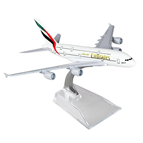 The United Arab Emirates Airbus 380 16cm Metal Airplane Models Child Birthday Gift Plane Models Home Decoration (Emirates Model compare prices)