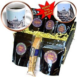 Vacation Spots - Saint Peters The Vatican - Coffee Gift Baskets - Coffee Gift Basket