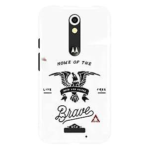 a AND b Designer Printed Mobile Back Cover / Back Case For Motorola Moto (3rd Gen) (Moto_X3_3D_3523)