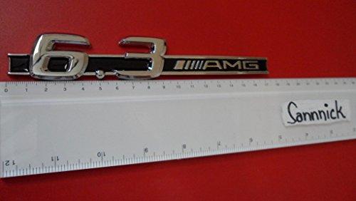 AMG 6.3 ABS BADGE EMBLEM CAR AUTO VOITURE ABZEICHEN EMBLEME STICKER CHROME DECAL DECO LOGO uk