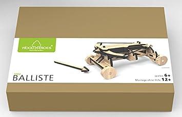 Maquette en bois articulé - Baliste - WoodHeroes