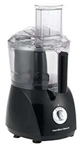 Hamilton Beach 70670 Chef Prep 525-Watt Food Processor, Black