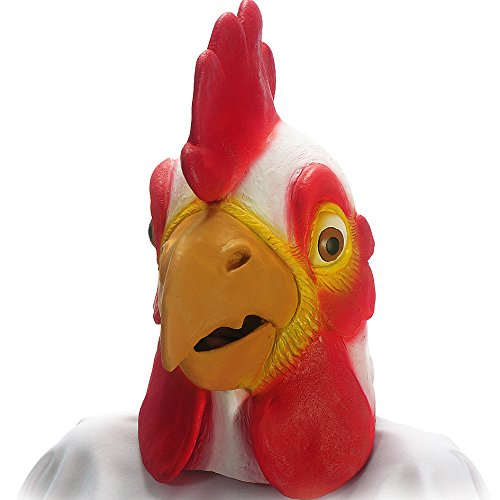 Carnival Toys 969 - Maschera Gigante Gallo in Lattice
