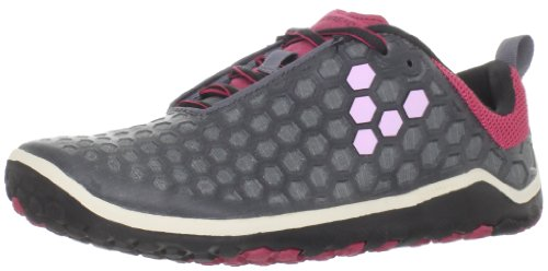 Vivobarefoot Women's Evo Ii L Dark Grey/Crimson