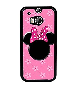 PrintDhaba Minnie Mouse D-1454 Back Case Cover for HTC ONE M8 EYE (Multi-Coloured)