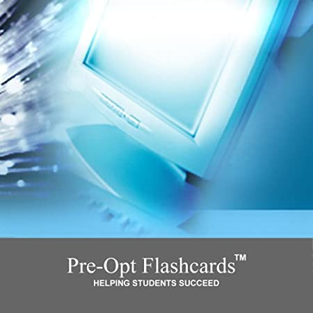 Pre-Opt Flashcards - OAT Review Program - Study the OAT Content with over 2100 flashcards - For PC and Intel MAC