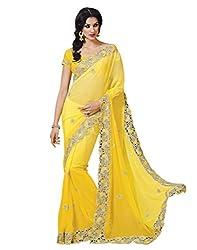 Saboo Saree (Yellow)