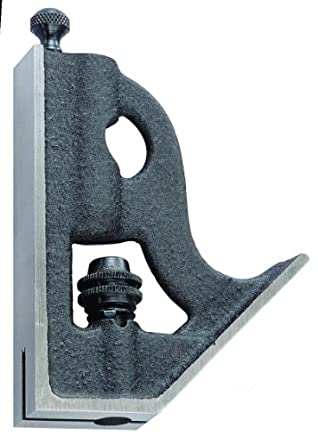 Starrett H33-6 Forged, Hardened Steel Square Head For Combination Squares, Combination Sets And Bevel Protractors