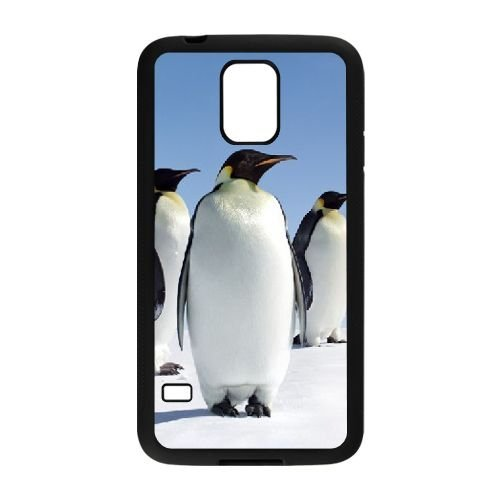 Personality customization Penguin Cheap DIY Cell Phone Case for SamSung Galaxy S5 I9600 03549 At J-15 Cases