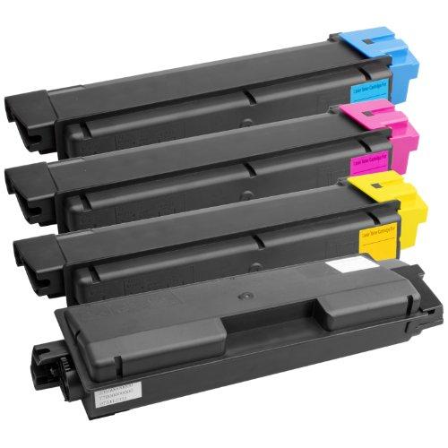 4x Laser-Toner XXL kompatibel zu Kyocera Mita TK-580 FS-C5150 FS-C5150DN PlatinumSerie